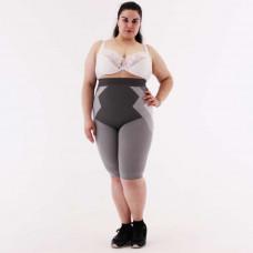 Женские корректирующие шорты с турмалином V609 (шорты для полных женщин до 150 кг)