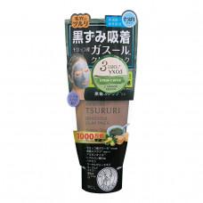 Tsururi Крем-скраб для лица с вулканической глиной, каолином и коричневым сахаром, 150 г