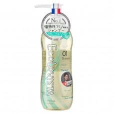Ecolovista Moist Spa Шампунь для волос Увлажнение, 500 мл