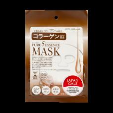 Маска для лица Japan Gals с коллагеном Pure5 Essential 1 шт