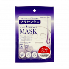 Маска для лица Japan Gals с плацентой Pure5 Essential 1 шт