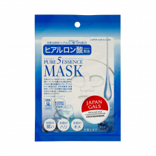 Маска для лица Japan Gals с гиалуроновой кислотой Pure5 Essential 1 шт