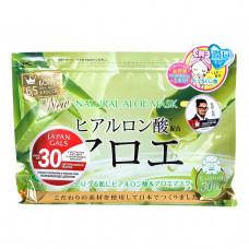 Курс натуральных масок для лица JAPAN GALS с экстрактом алоэ 40 шт