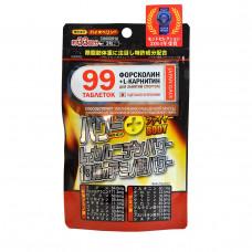 """Пищевая добавка """"Power Plus: жиросжигание и мышечный рельеф"""" упаковка 99 шт"""