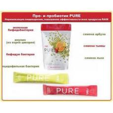 Пробиотик и пребиотик PURE от RAIN International. 10 стиков